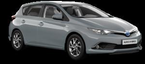 Mietwagen Toyota Auris Hybrid Automatik - Autovermietung Teneriffa. Red Line Rent a Car Tenerife.