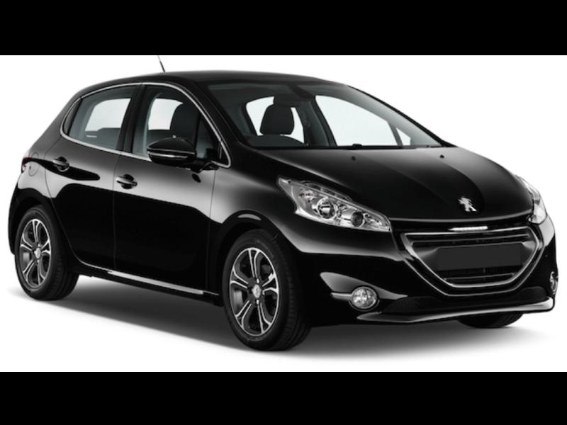 Mietwagen Lanzarote - Peugeot 208. Autovermietung Red Line Rent a Car.